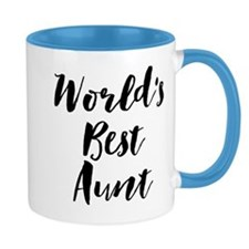 World's Best Aunt Mugs