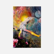 Gaia- Mother Goddess Rectangle Magnet