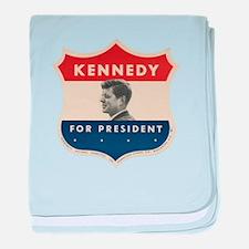 John F. Kennedy baby blanket