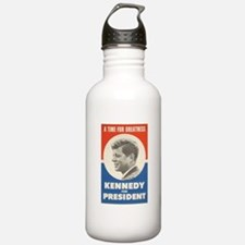 John F. Kennedy Water Bottle