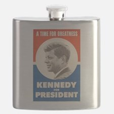 John F. Kennedy Flask