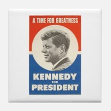 John F. Kennedy Tile Coaster