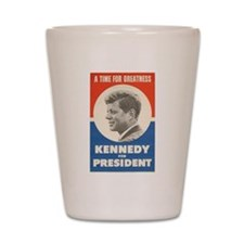 John F. Kennedy Shot Glass