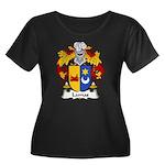 Lamas Family Crest Women's Plus Size Scoop Neck Da