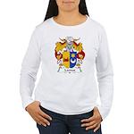 Lamas Family Crest Women's Long Sleeve T-Shirt