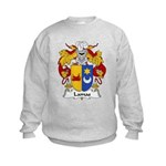 Lamas Family Crest Kids Sweatshirt