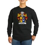 Lamas Family Crest Long Sleeve Dark T-Shirt