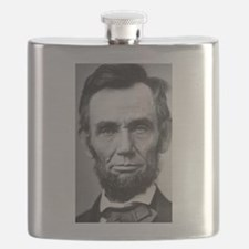 Funny Lincoln Flask