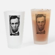 Unique Lincoln Drinking Glass