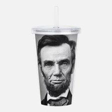Cute Lincoln Acrylic Double-wall Tumbler