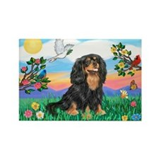 Bright Life/Cavalier Rectangle Magnet