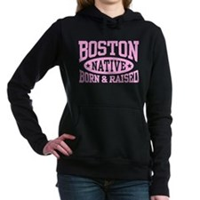Boston Native Women's Hooded Sweatshirt