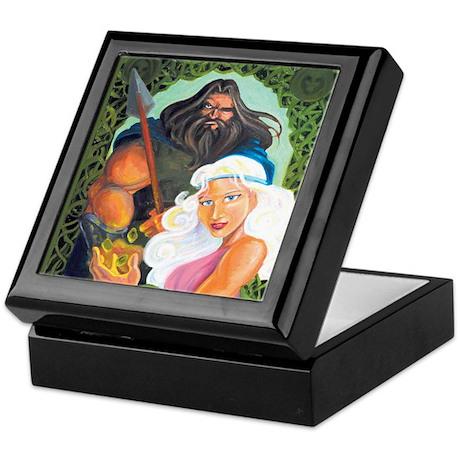 Odin & Freya Keepsake Box