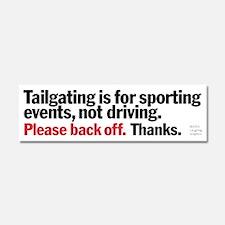 Tailgating Car Magnet 10 x 3