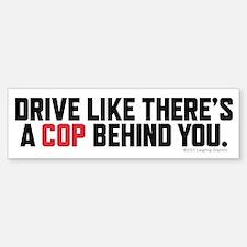 Cop Sticker (Bumper)