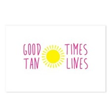 Good Times Tan Lines Postcards (Package of 8)
