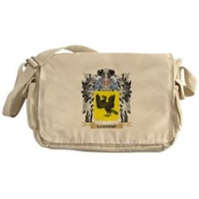 Luciano Coat of Arms - Family Crest Messenger Bag