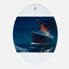 Titanic Oval Ornament