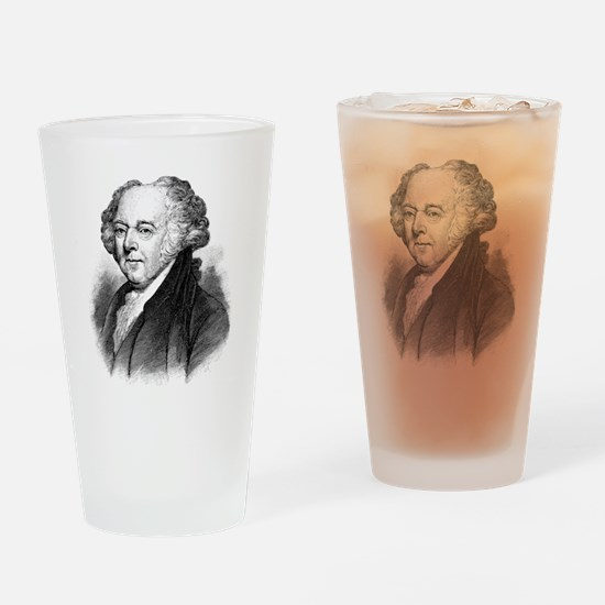 Cute John adams Drinking Glass