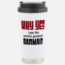 World's Greatest Barmai Stainless Steel Travel Mug