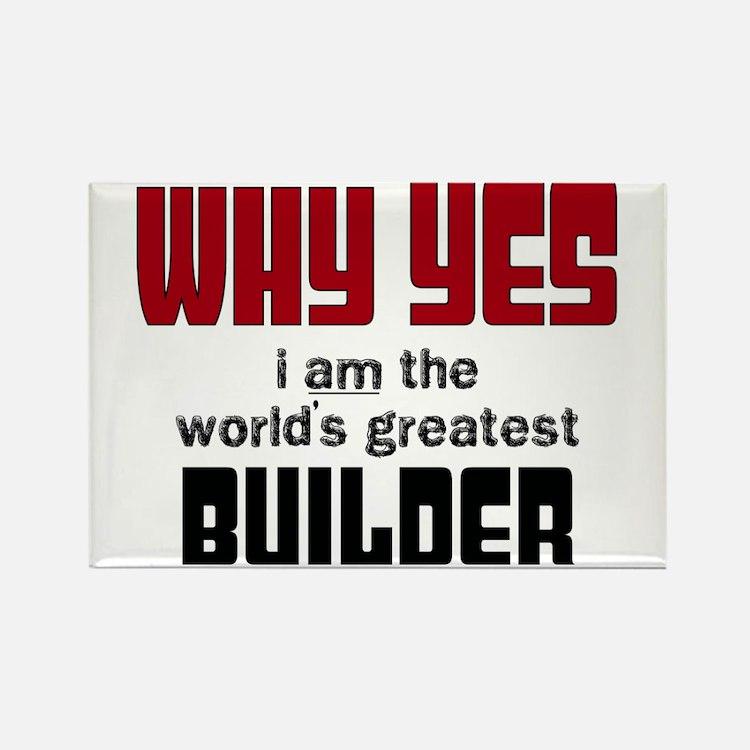 Worlds Greatest Builder Magnets