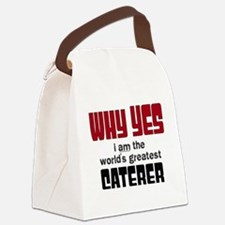 World's Greatest Caterer Canvas Lunch Bag