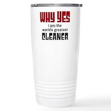 World's Greatest Cleane Travel Mug