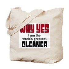 World's Greatest Cleaner Tote Bag