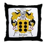 Jurado Family Crest Throw Pillow
