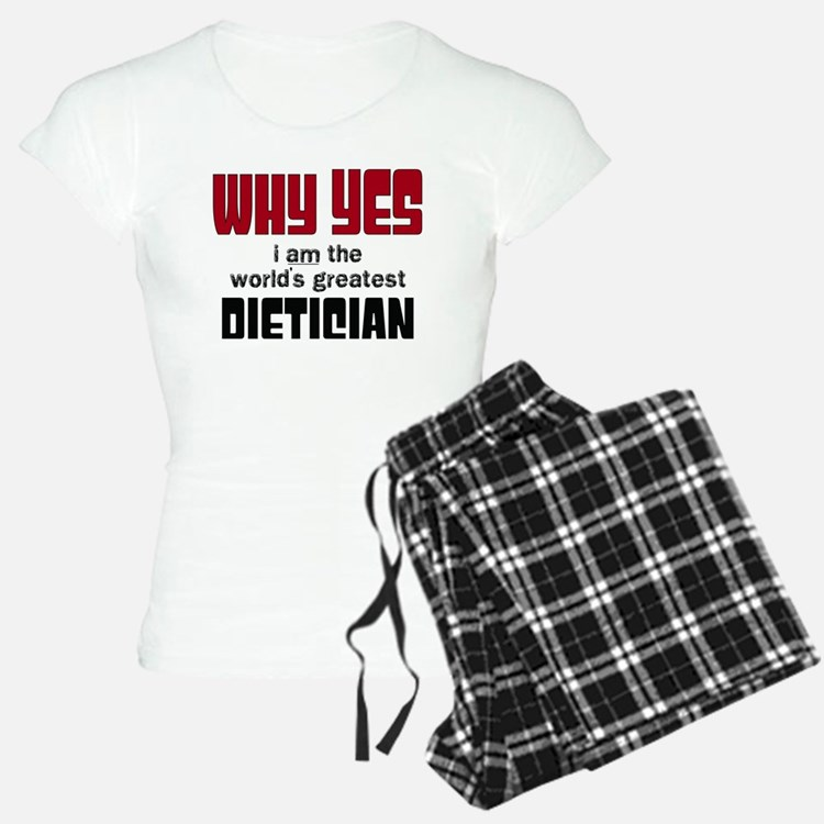 World's Greatest Dietician Pajamas