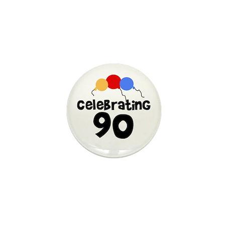 Celebrating 90 Mini Button (10 pack)