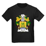 Junco Family Crest Kids Dark T-Shirt