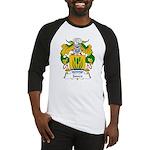 Junco Family Crest Baseball Jersey