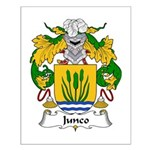 Junco Family Crest Small Poster
