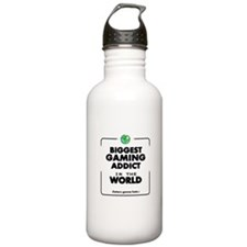 Biggest Gaming Addict Water Bottle