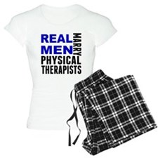 Real Men Marry Physical Therapists Pajamas