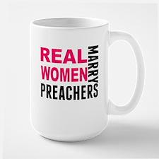 Real Women Marry Preachers Mugs
