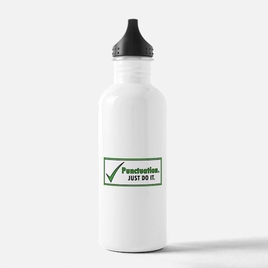 Just Do It – Punctuati Water Bottle
