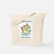 Social Work Miracle Workers Tote Bag