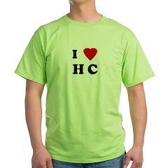 I Love H C T-Shirt