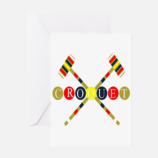 Croquet Greeting Cards