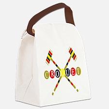 Croquet Canvas Lunch Bag