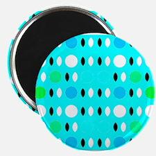 Turquoise Love Designer Magnets