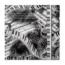 Classical Piano Mozart Music Quotes A Tile Coaster