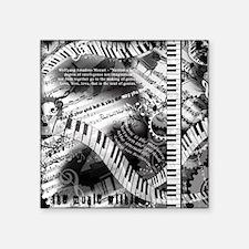 Classical Piano Mozart Music Quotes Art Pr Sticker