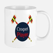 Croquet Player Mugs