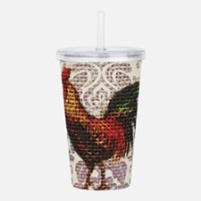 french country vintage Acrylic Double-wall Tumbler
