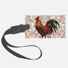 french country vintage rooster Luggage Tag