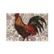 french country vintage rooster Magnets