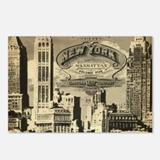 Vintage USA New York Postcards (Package of 8)